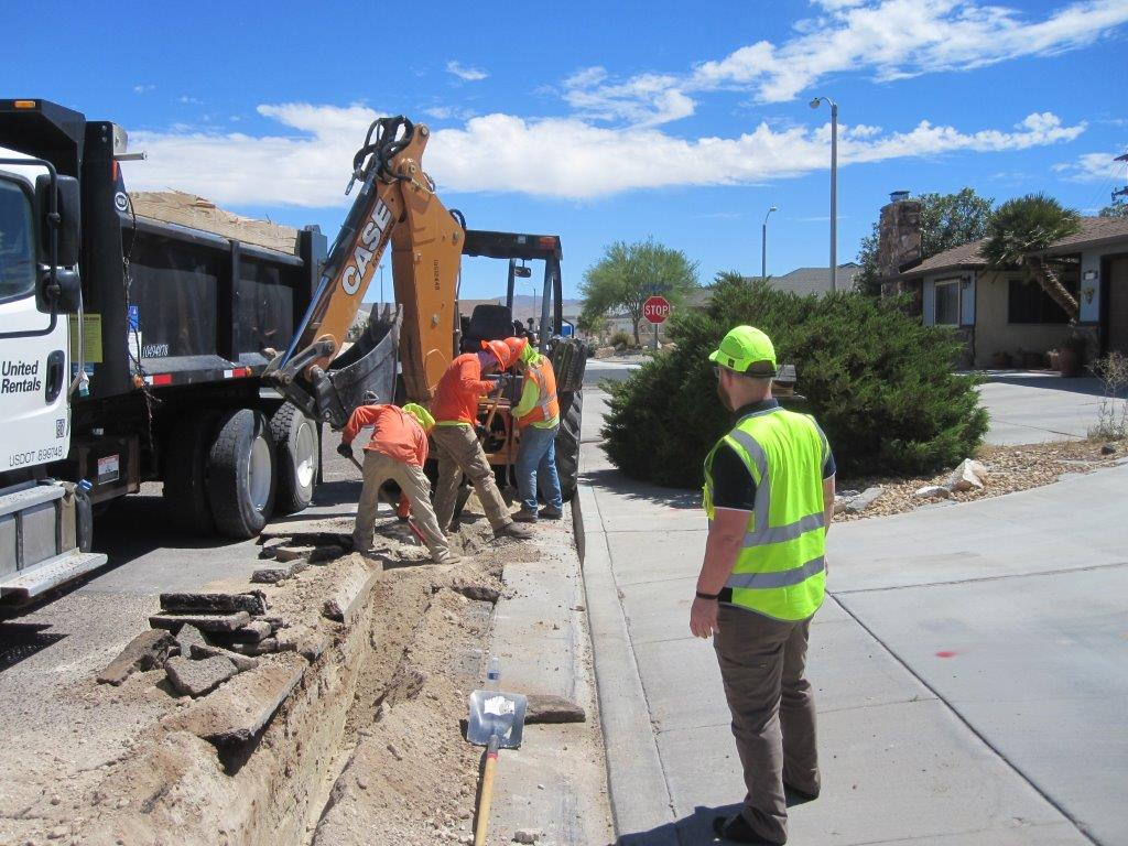 Inspection of Southern California Edison's Work within the City's Right of Way